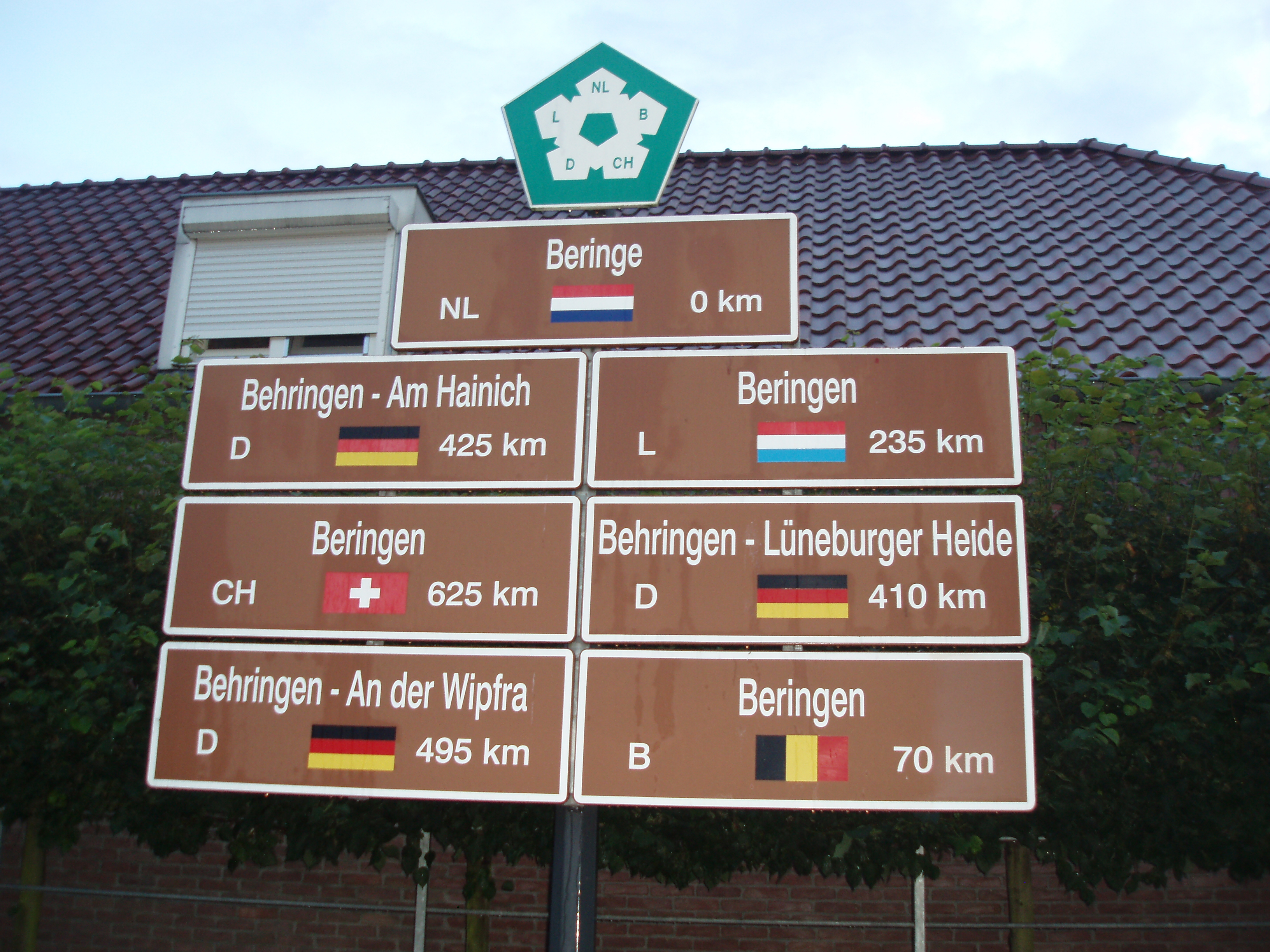 The town of Beringe in Limburg