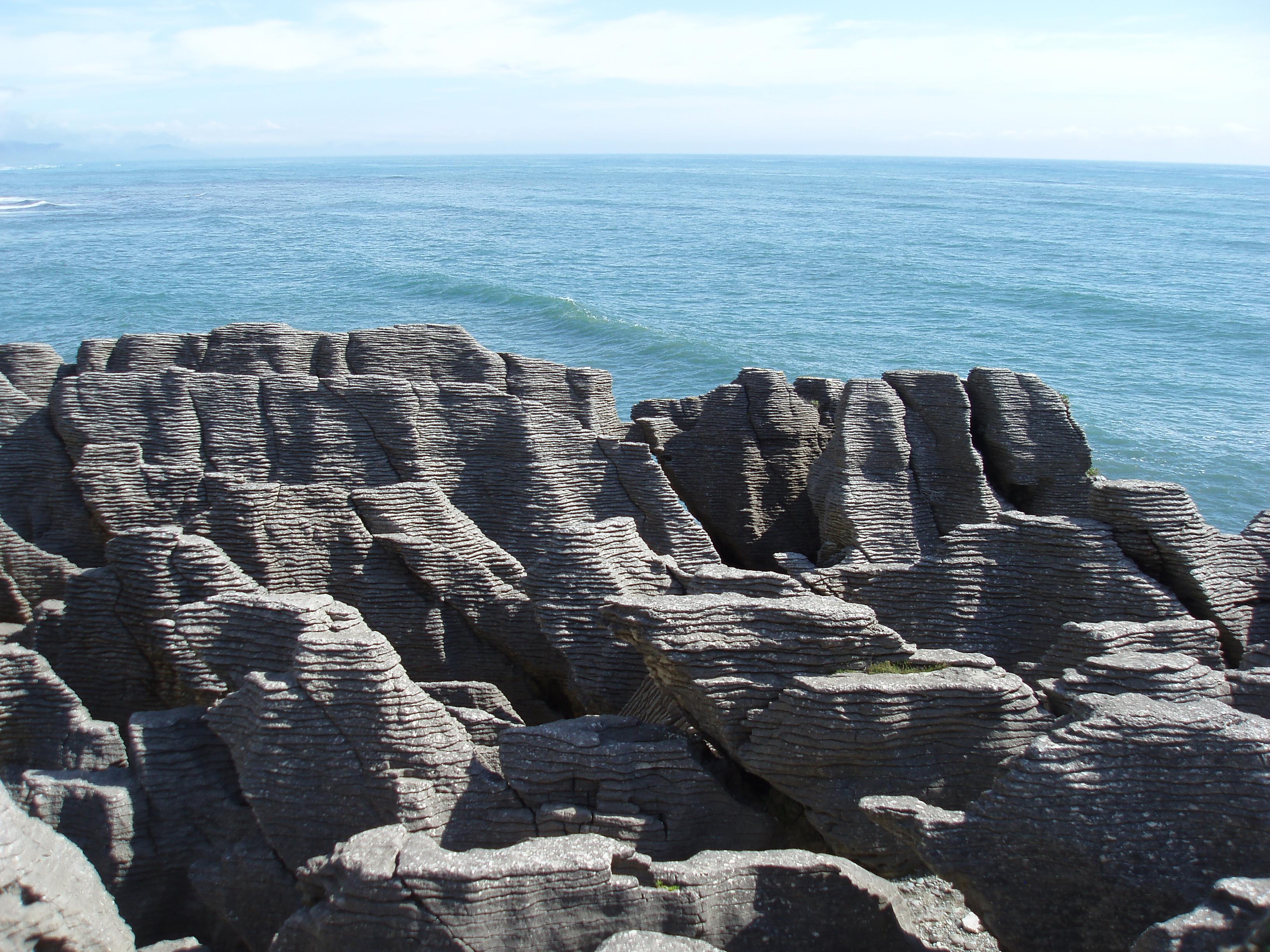 Punakiki Pancake rocks, west coast