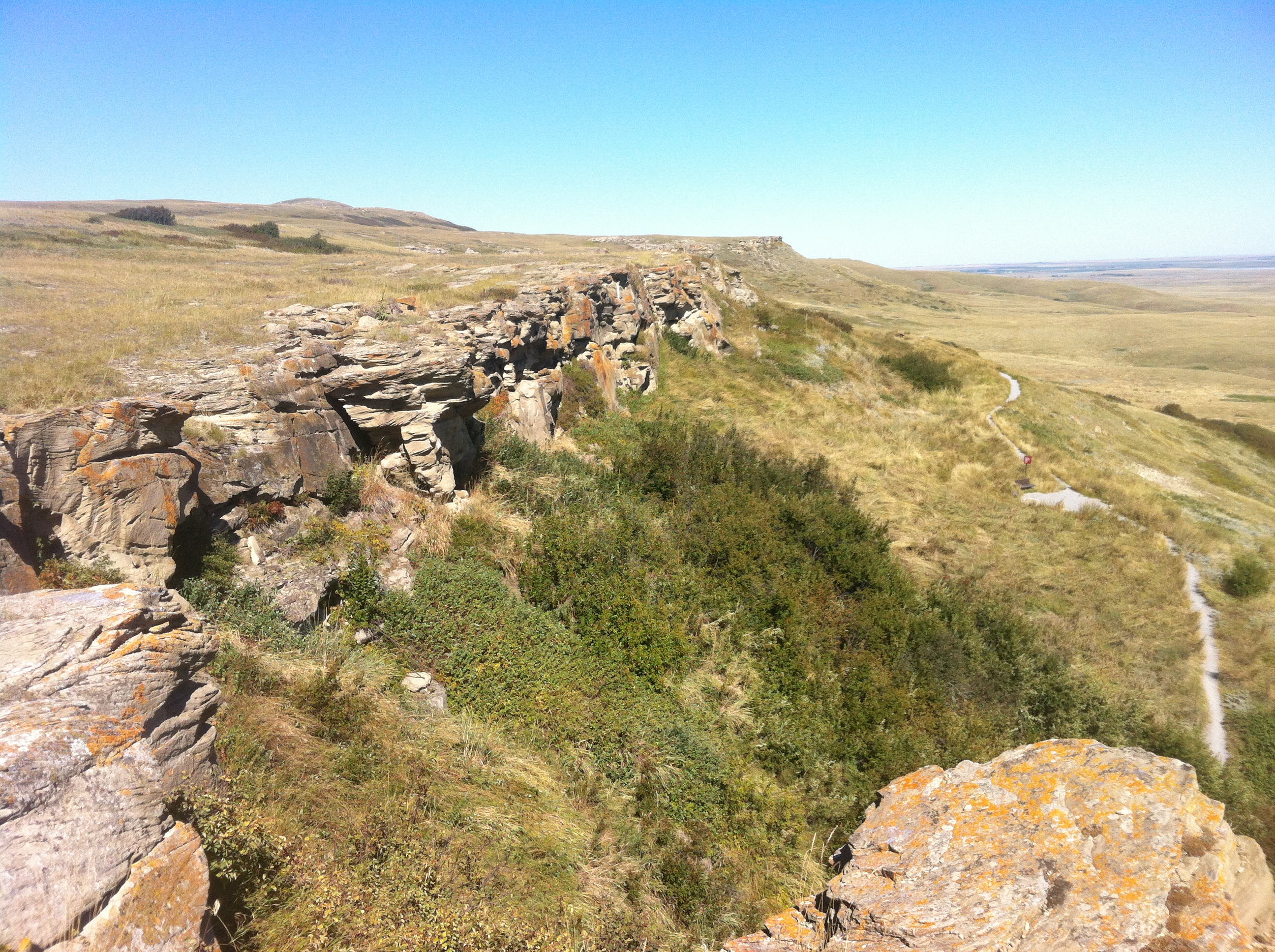 Head-Smashed-In Buffalo Jump visit