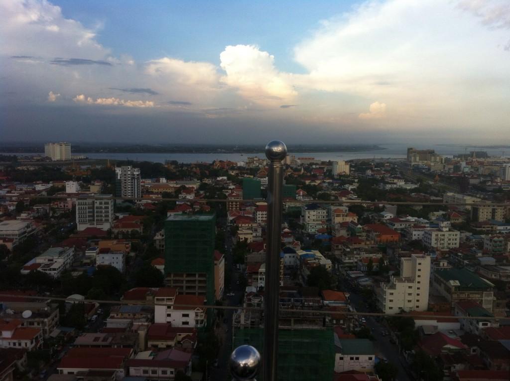 Skyline of Phnom Penh