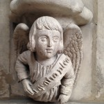 Carving in Gothic Church, Dieppe