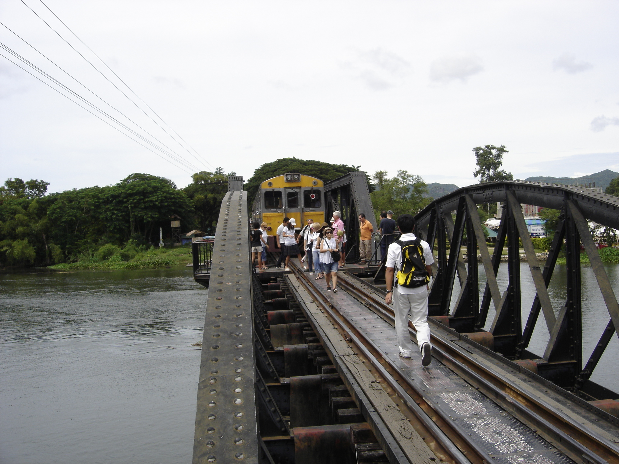 A bridge to far and the Thai-Burma Death Railway at Kanchanaburi