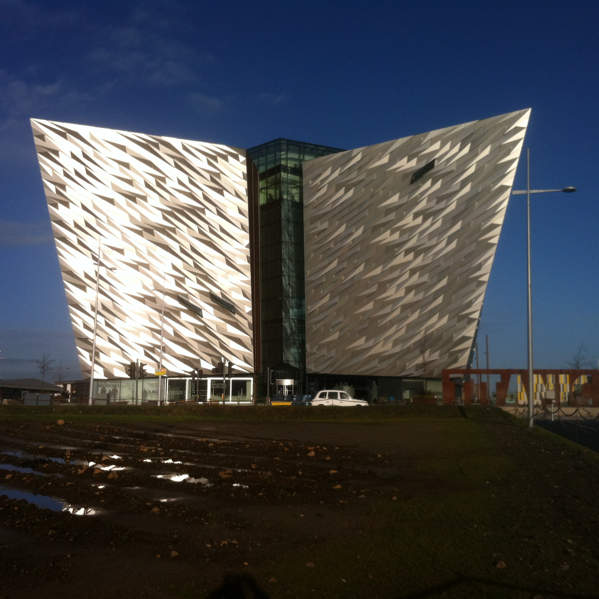 The Titanic Museum in Belfast is cursed