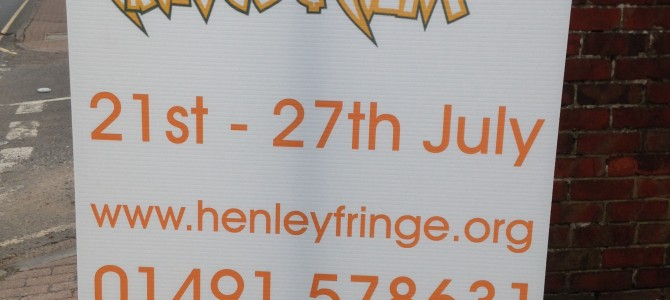 Leaving Home and heading to Henley Fringe Festival