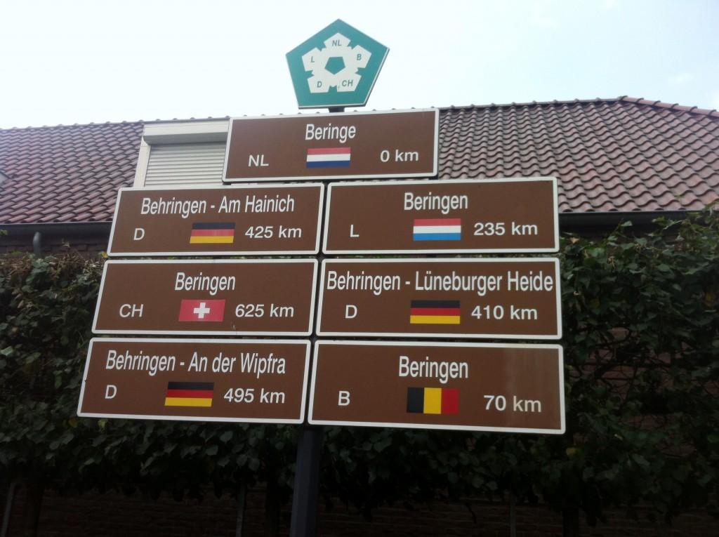 The six Beringe's of Europe