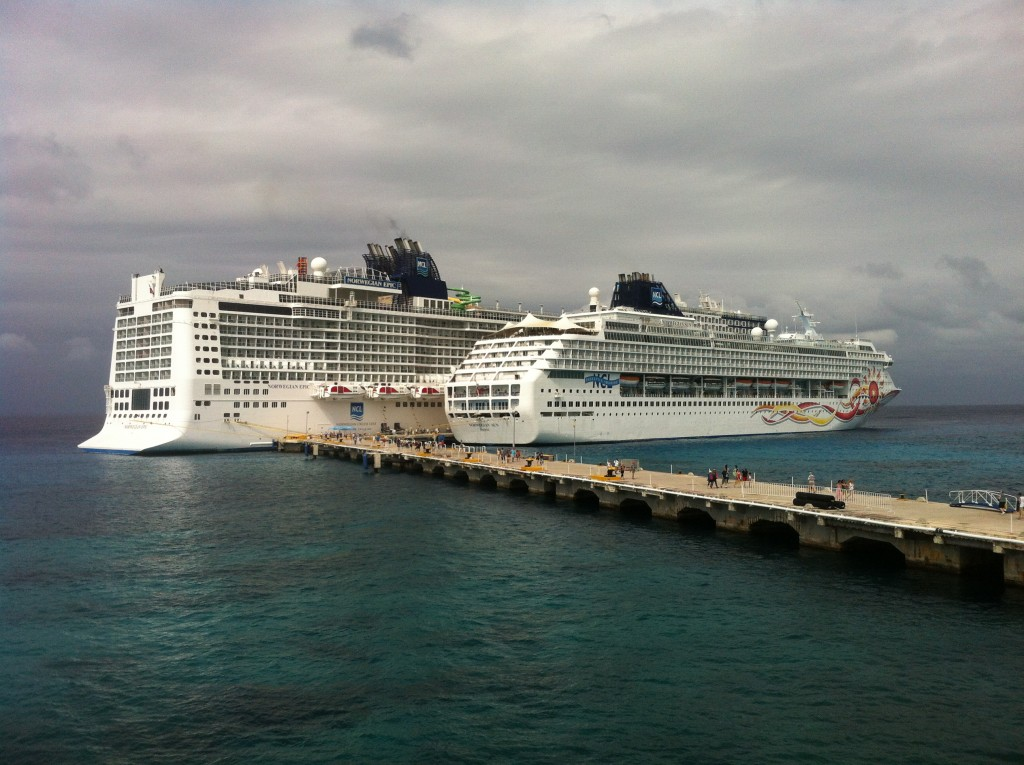 Two NCL ships, we are the baby one