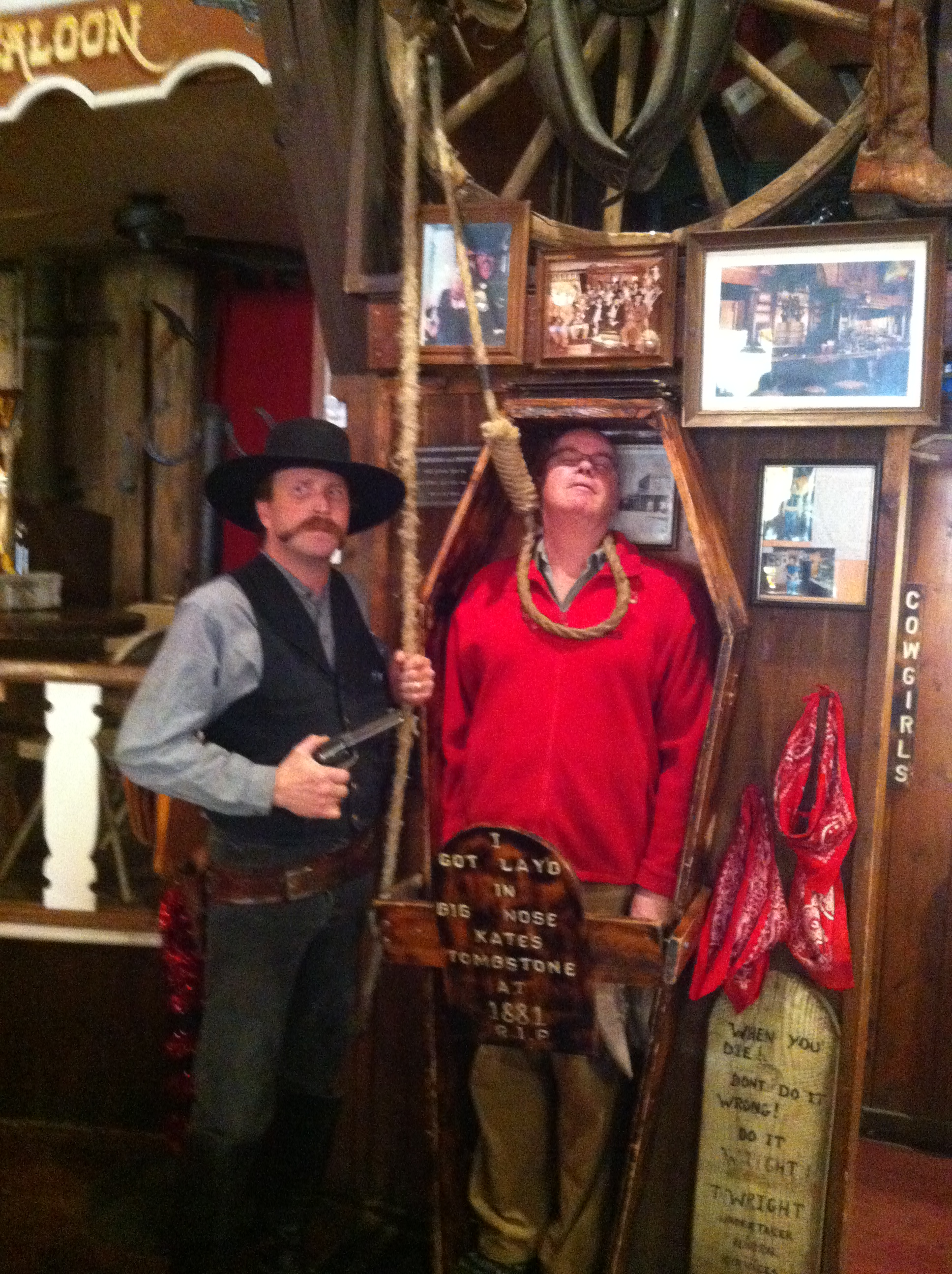 A visit to Tombstone and Gammon Gulch in Arizona