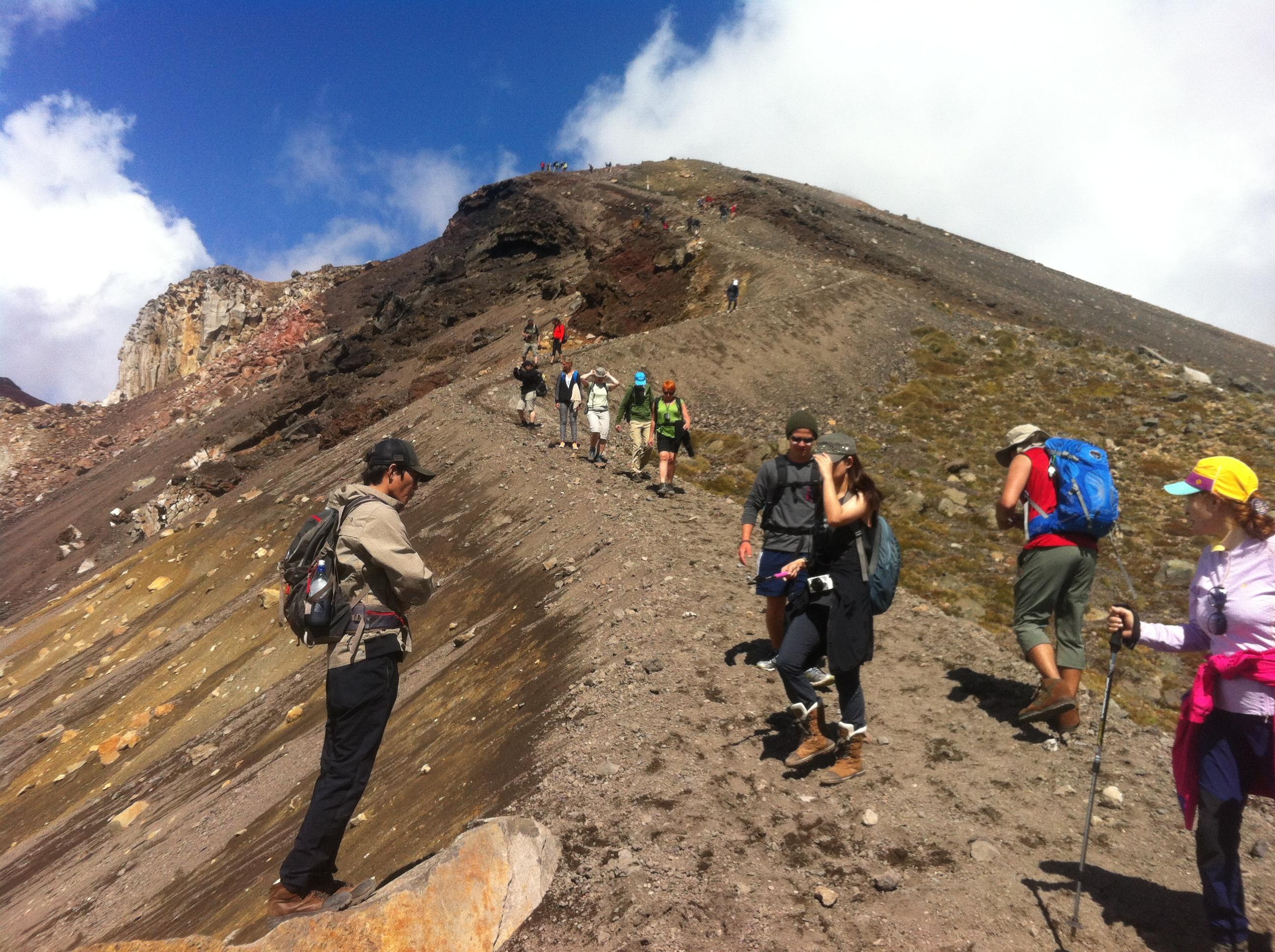 How to do the Tongariro Alpine Crossing