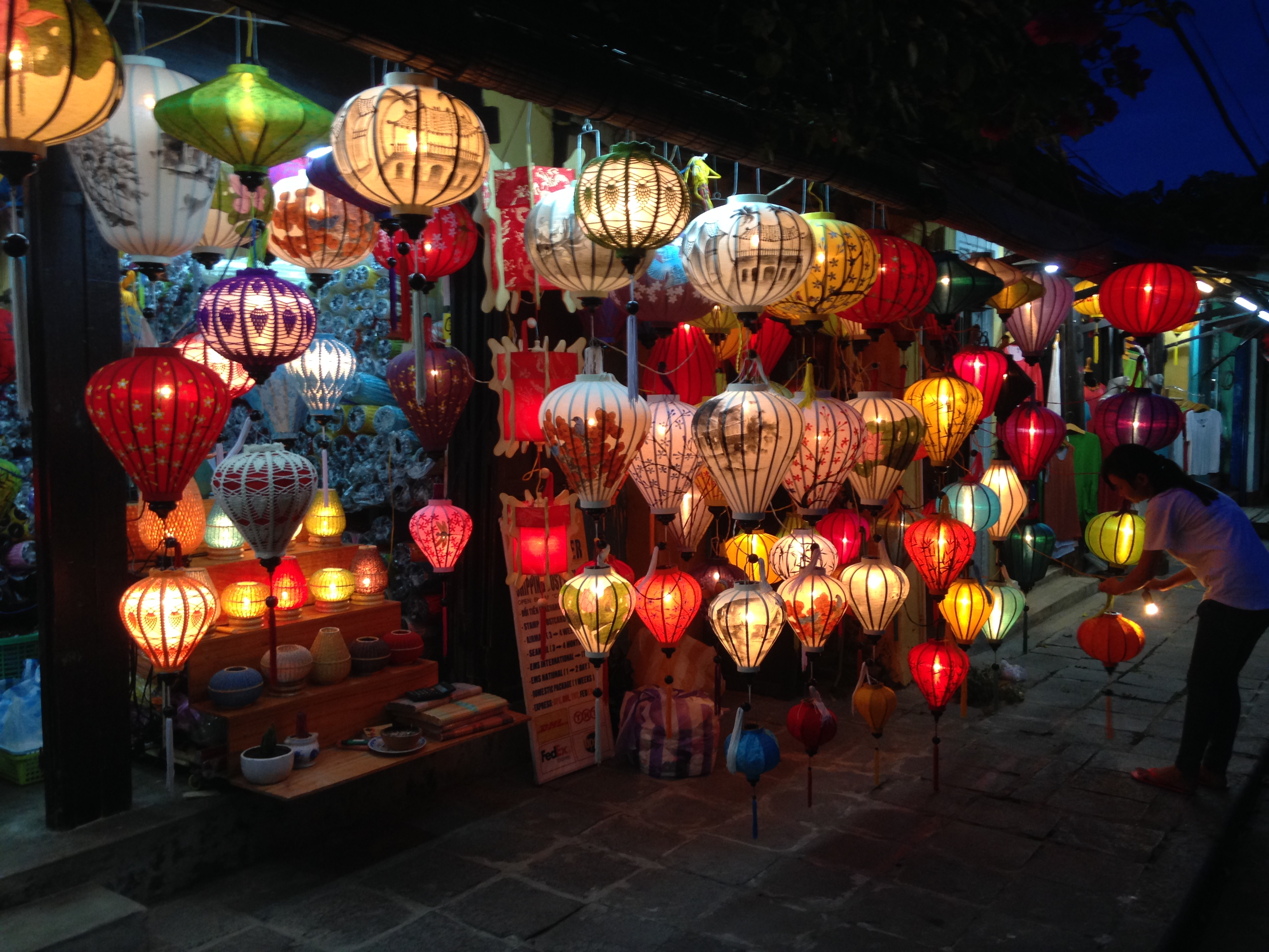 Walking in the past – UNESCO World Heritage site – Hoi An