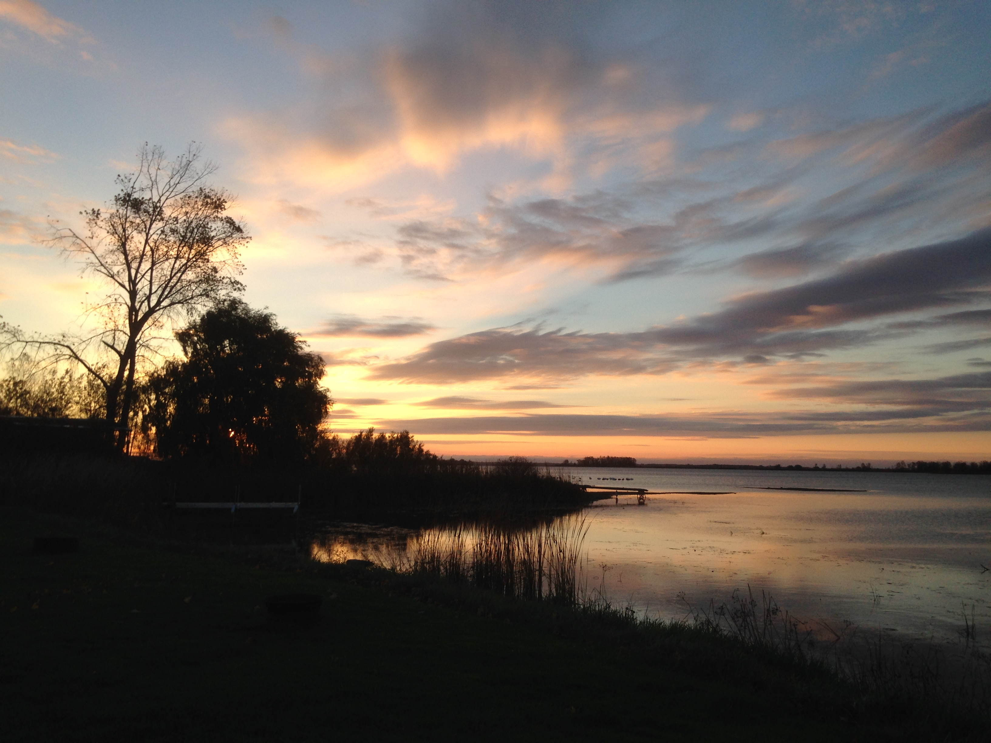 Sunrise at Campsite