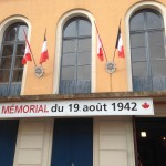 Theatre which is now a memorial museum for th raid on Dieppe of Canadian soldiers.
