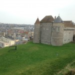 Chateau over Dieppe
