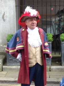 Town Cryer in Rye