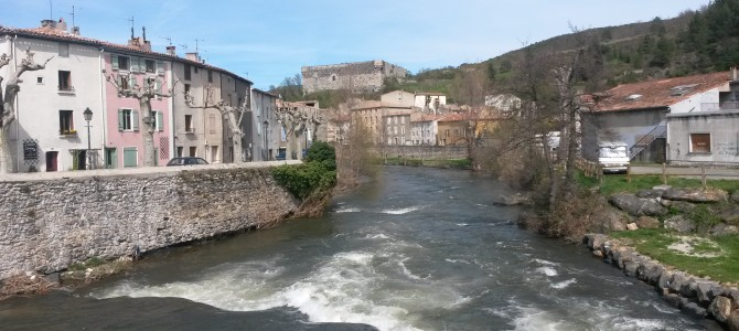 A visit to Quillan in Southern France