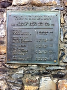 Names of executed rebellion leaders