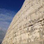 Up close and personal with the white cliffs!