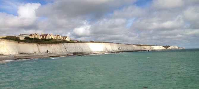 The Undercliff Walk in Brighton
