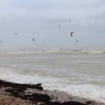 Kite Surfing on New Year's Day