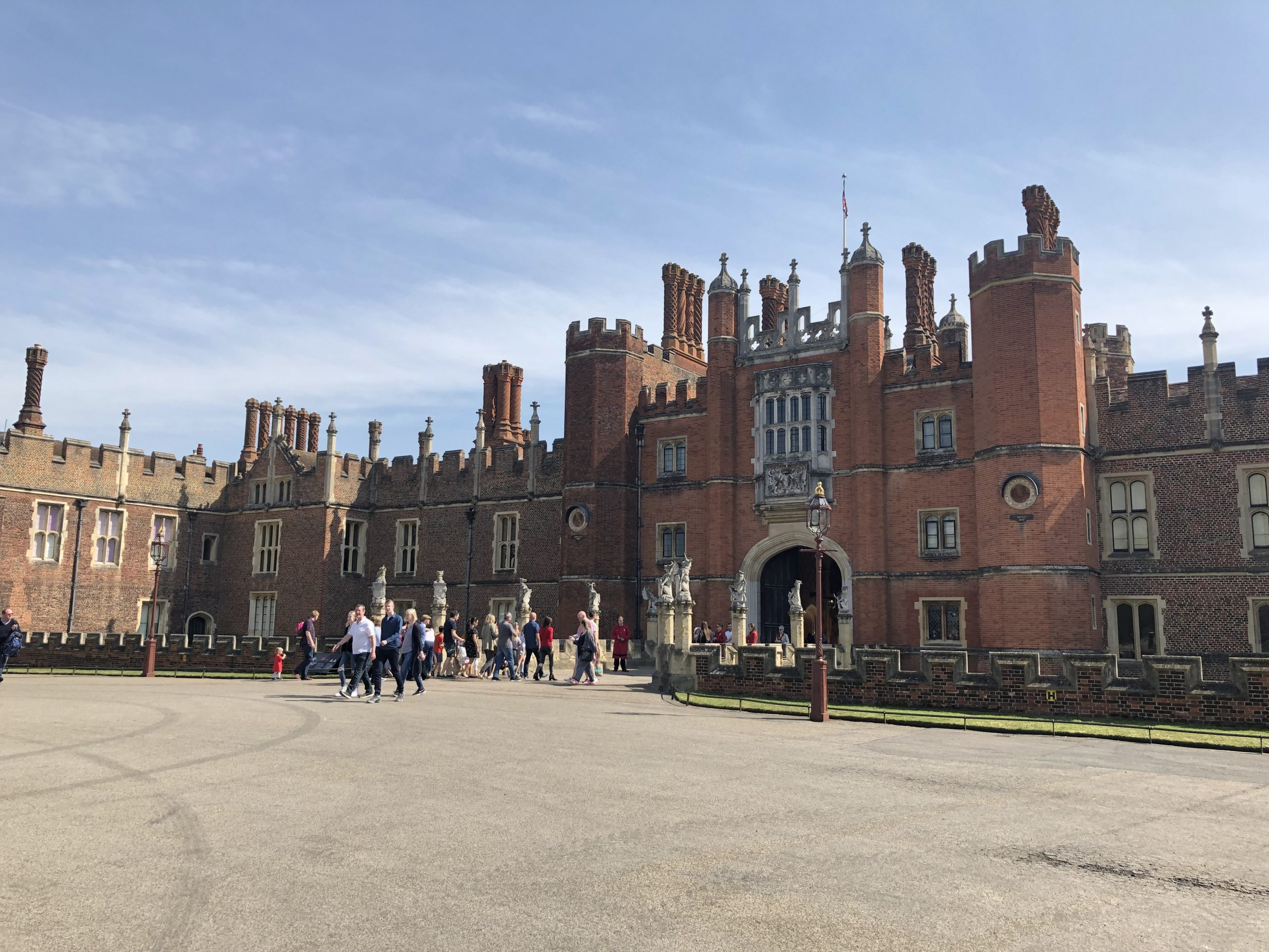 Ghosts be there… Hampton Court Palace