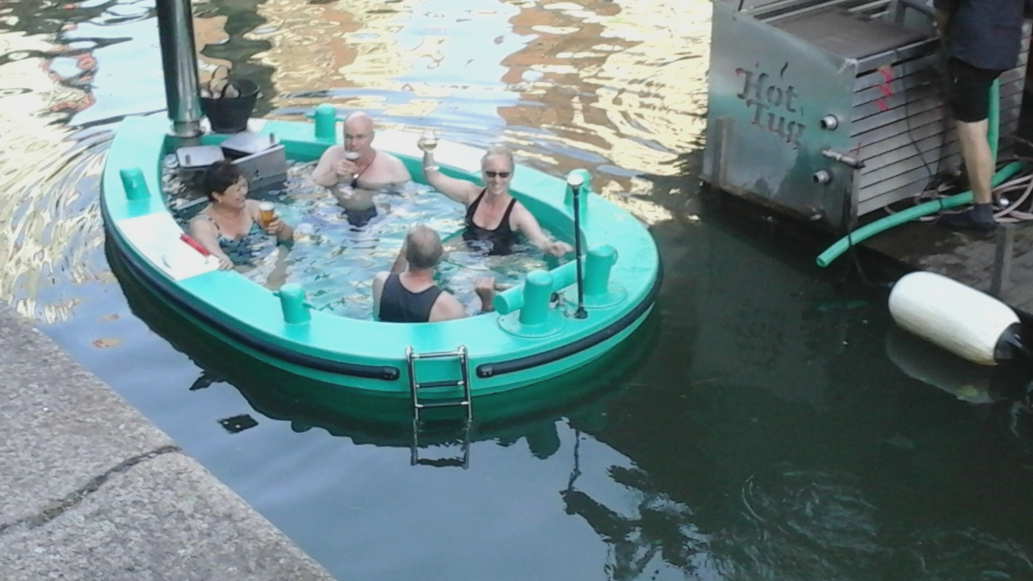 Hot Tub Boat – Rotterdam